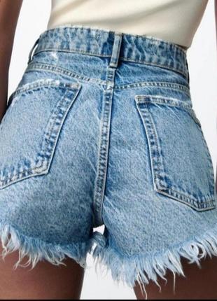 Джинсовые шорты zara❤❤❤новая коллекция