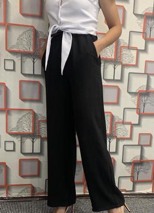 Новые легкие штаны чёрный цвет