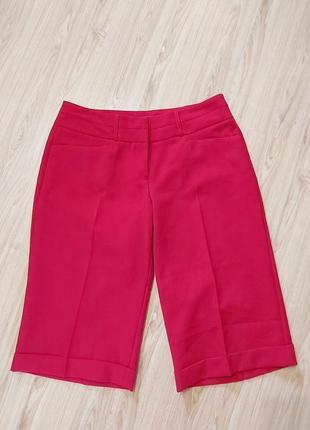 Стильные шорты, цвет марсала