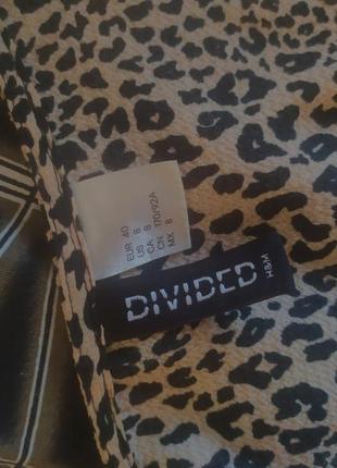 Леопардовое платье5 фото