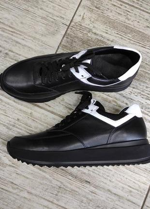 Лёгкие мягкие кожаные кроссовки gama9 фото