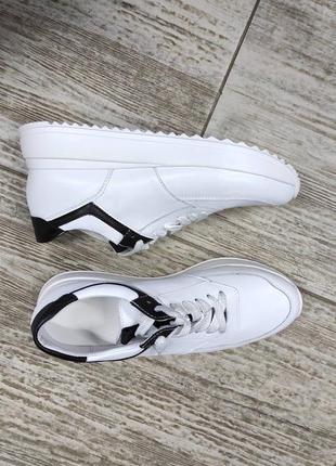 Лёгкие мягкие кожаные кроссовки gama5 фото