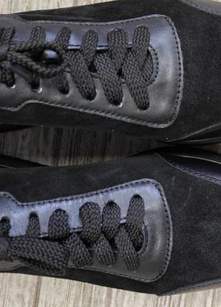 Лёгкие мягкие кожаные кроссовки gama10 фото