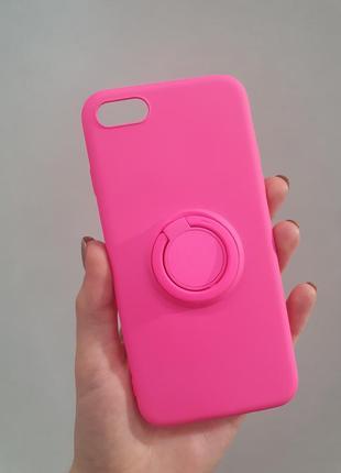 Чехол для айфон iphone 6 / 6s с popsocket