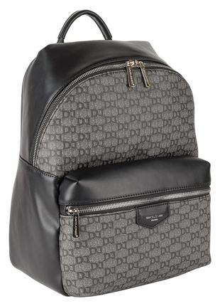Рюкзак женский david jones 805506 черный серый