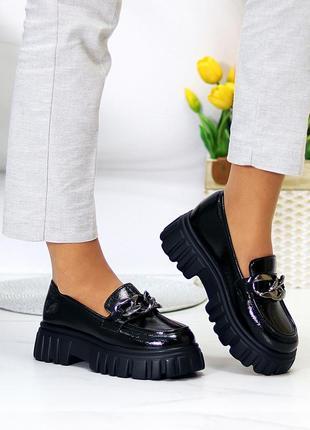 """Туфли """"catherine"""" женские экокожа глянец"""