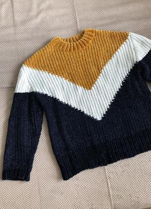 Женский велюровый плюшевый свитер
