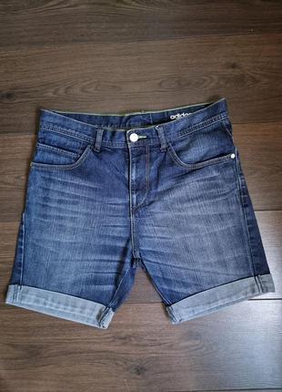 Джинсовые шорты adidas размер s/m
