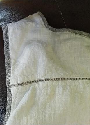 Шикарное платье большого размера.лен.10 фото