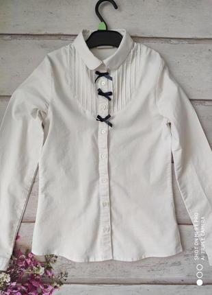 Рубашка школьная б\у lc waikiki 11-12 лет. \146-152