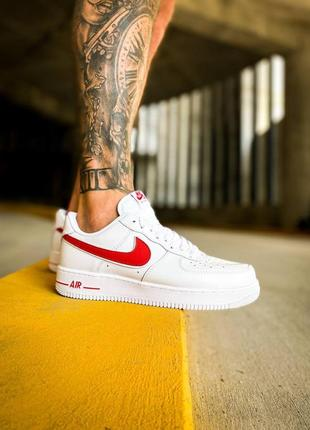 """Nike air force 1 low """"white/red"""""""
