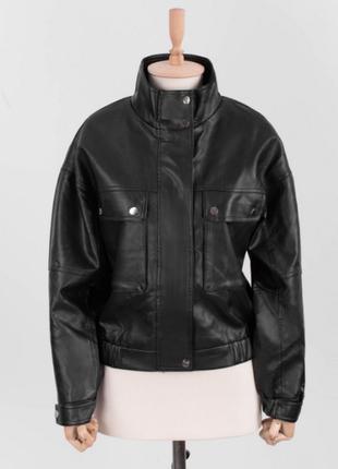 Женская кожаная куртка/новинка осени 2021/размеры: s, m, l, xl, 2xl