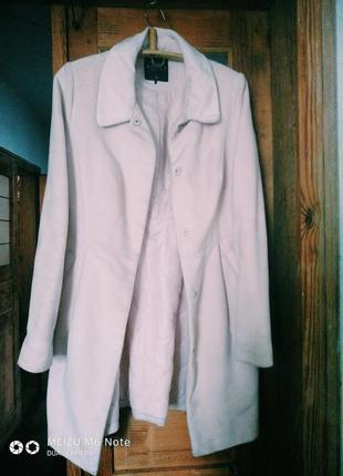 Пальто світло рожеве mohito