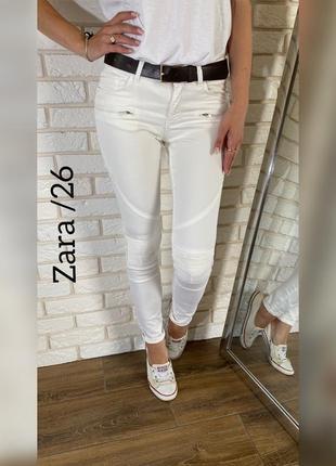 Стильные байкерские джинсики zara