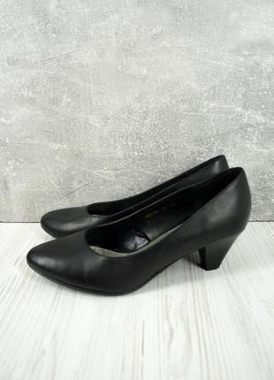 Стильные модные кожаные туфли di fontana. размер uk5/ eur38.