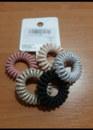 Набор резинок спиралек для волос