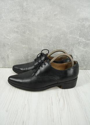 Стильные модные кожаные туфли office london. размер uk5 eur38.