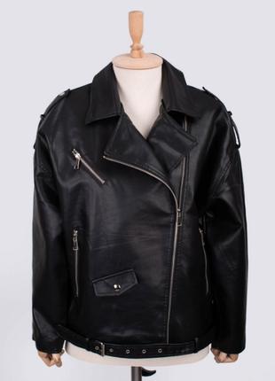 Женская кожаная куртка/косуха/новинка осени 2021/размеры: s, m, l, xl, 2xl