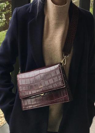 Кожаная сумочка lasocki - похожа на jw pei