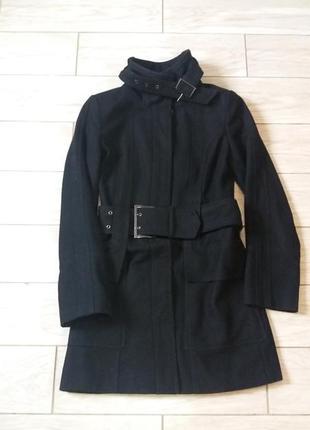 Пальто из шерсти zara