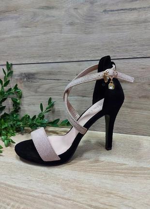 Идеальные босоножки 🌿 на каблуке шпилька классика сандалии