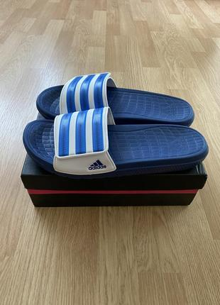 Фирменные шлёпанцы тапки тапочки adidas