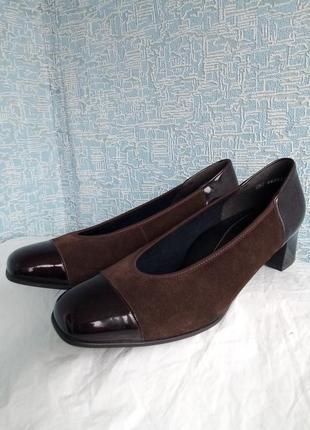 Натуральные туфли remonte dorndorf сток новые rieker