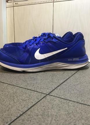 Сині кросівки nike dual fusion