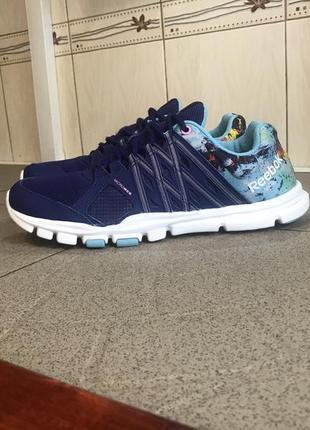 Сині кросівки reebok microweb