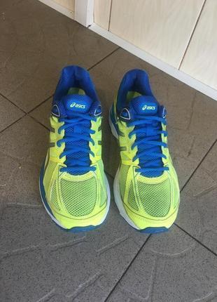Жовті з синім кросівки asics gel cumulus