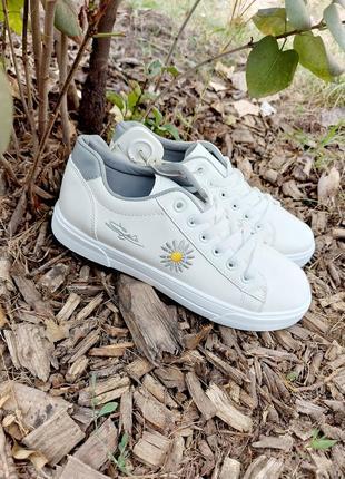 Кеды 🌿 кроссовки кеди мокасины белые базовые1 фото