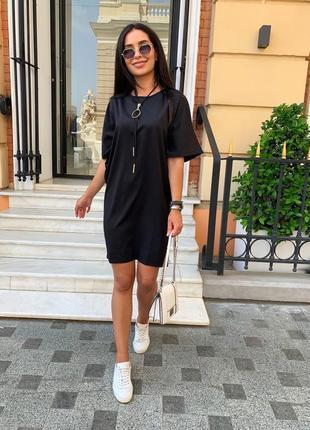 Платье женское летнее демисезон до колена легкое повседневное