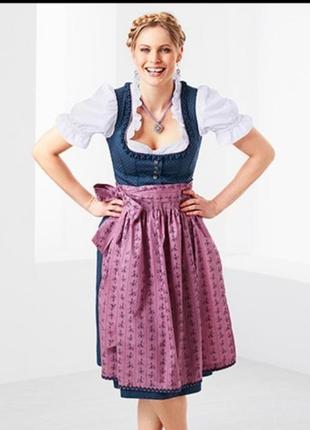 Национальный баварский костюм октоберфест р. 46 вро