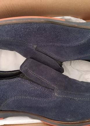 Makas взуття туфлі мешти замшеві чоловічі 40р (нові)