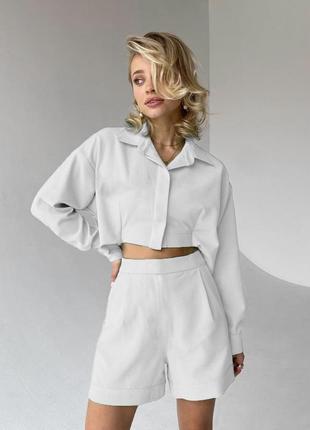 Костюм(рубашка+шорты)