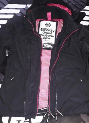 Куртка курточка весна-осень superdry japan непромокаемая непродуваемая