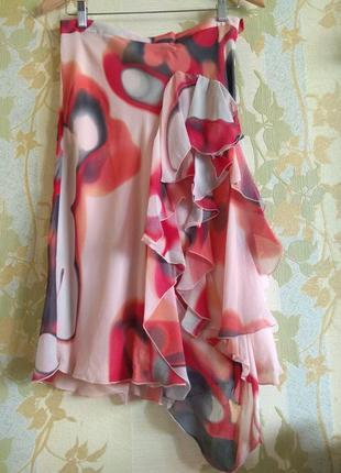 Шелковая юбка,италия