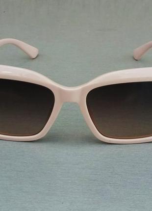 Fendi очки женские солнцезащитные коричневый градиент в нежно розовой оправе2 фото