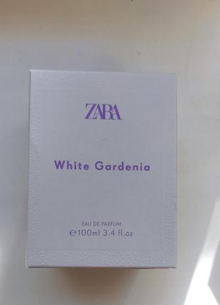Zara white gardenia парфуми духи оригінал