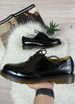 Оригинальные кожаные туфли полуботинки dr. martens 1461 pw
