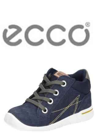 Кожаные ботинки экко ecco first оригинал р.26 новые индонезия