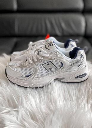 Кросівки nb 530 silver  кроссовки