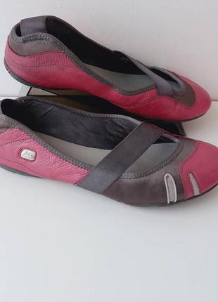 Женские туфли clarks/жіночі шкіряні балетки кларкс