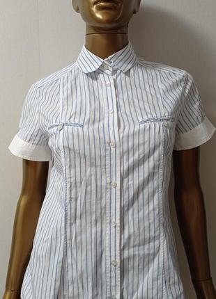 Massimo dutti рубашка с коротким рукавом