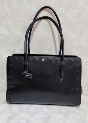 Деловая кожаная сумка radley, оригинал