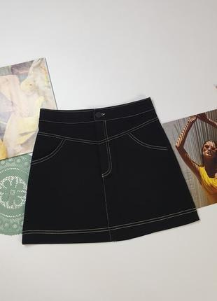 Плотная юбка zara