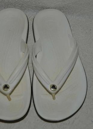 Вьетнамки crocs vm4w6 стелька 24 см 37 размер унисекс