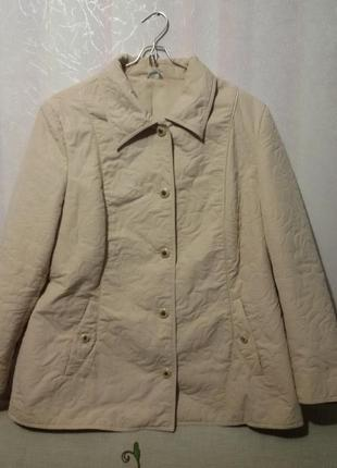 Куртка тоненькая легкая (пог- 62 см)