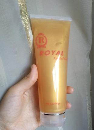 Контактный гель royal facial gel с гиалуроновой кислотой для лица