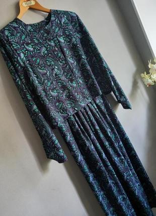 Винтажный летний костюм 80-e годы  аnisa  london
